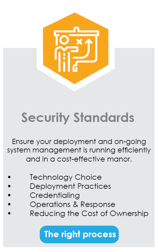Security Standards banner