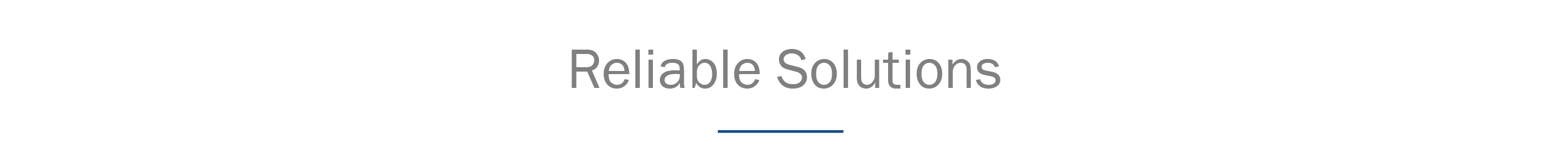 header_reliable solutions